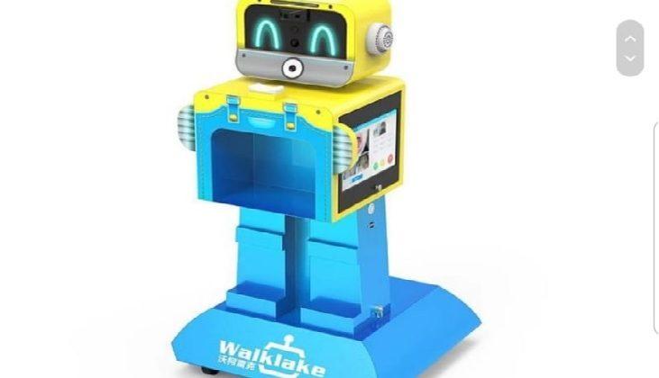 Walklake – medidor de temperatura – alunos